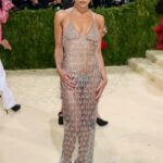Zoe Kravitz Attends 2021 Met Gala In America: A Lexicon of Fashion at Metropolitan Museum of Art in New York City 09/13/2021