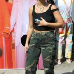 Addison Rae in a Camo Pants Was Seen Out in Los Angeles 10/11/2021