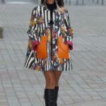 Eiza Gonzalez Attends the Louis Vuitton Fashion Show During 2021 Paris Fashion Week in Paris 10/05/2021
